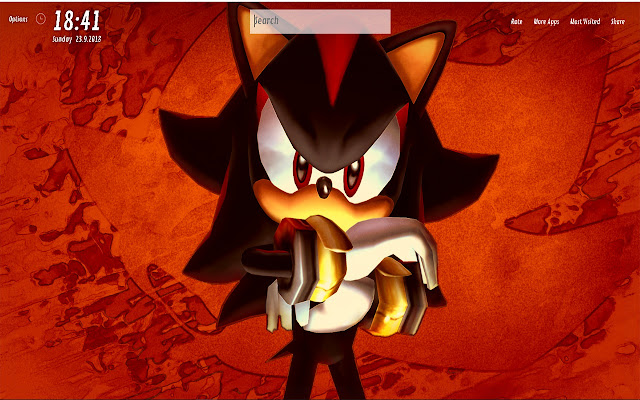 Shadow The Hedgehog Wallpapers HD for NewTab