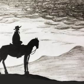 Traveller by Sangeeta Paul - Drawing All Drawing