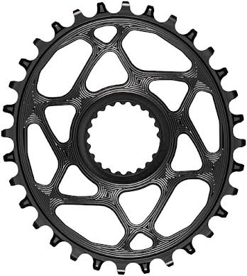 Absolute Black Oval Direct Mount Chainring - Shimano Direct Mount, 3mm Offset, Requires Hyperglide+ Chain alternate image 10