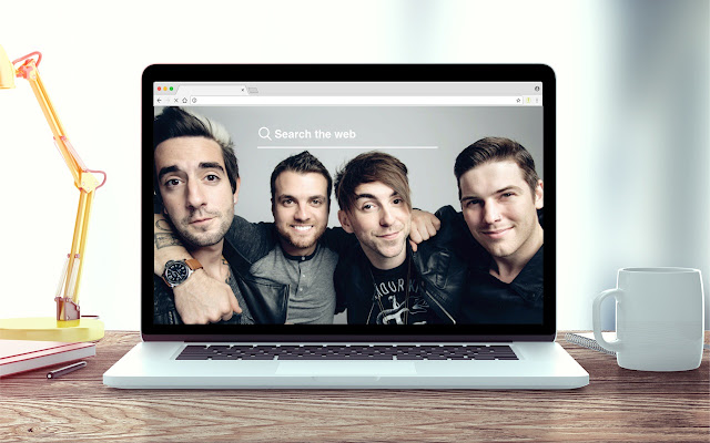 All Time Low New Tab Music Theme