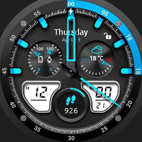 Fury Watch Face