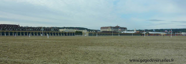 Photo: La Plage et les Planches de Deauville