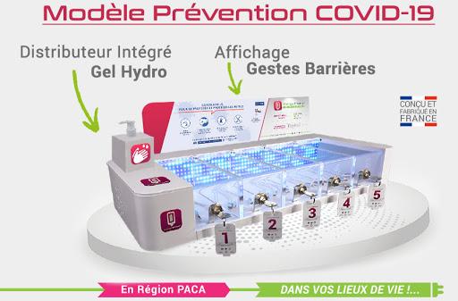 chargeur téléphone modèle covid-19-charge phone