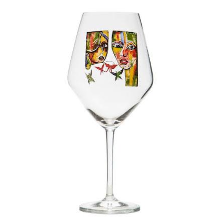 In Love, vinglas - Carolina Gynning