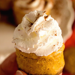 Light Mini Pumpkin Cheesecake