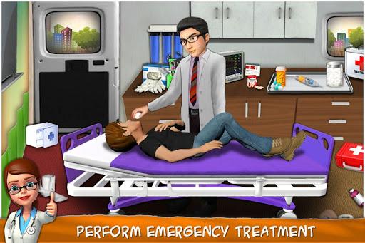 Heart Surgery Doctor - ER Emergency Game 2.1 screenshots 1