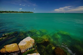 Photo: Near Sheboygan Breakwater Lighthouse  Love this place a lot! We're going back to this place again.