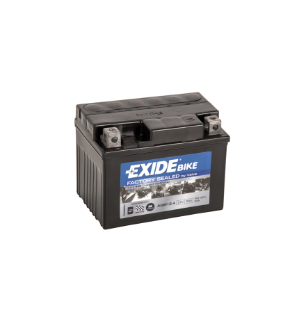 Tudor Exide AGM batteri 12V/3Ah