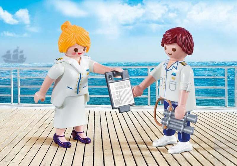 Contenido real de Playmobil® 9216 Duo Pack Crucero
