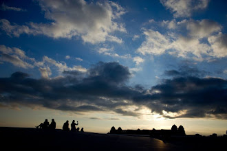 Photo: Sky from Norway From a roof of the Oslo Opera House  ノルウェーの空 オペラハウスの屋根の上から