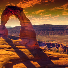 Delicate Arch by Stanley P. - Landscapes Caves & Formations (  )