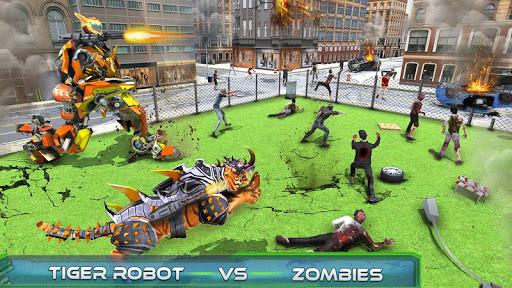 Futuristic Robot Tiger Real Robot Transformation filehippodl screenshot 14