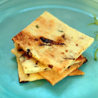 Rosemary Fig Crackers (gluten free)
