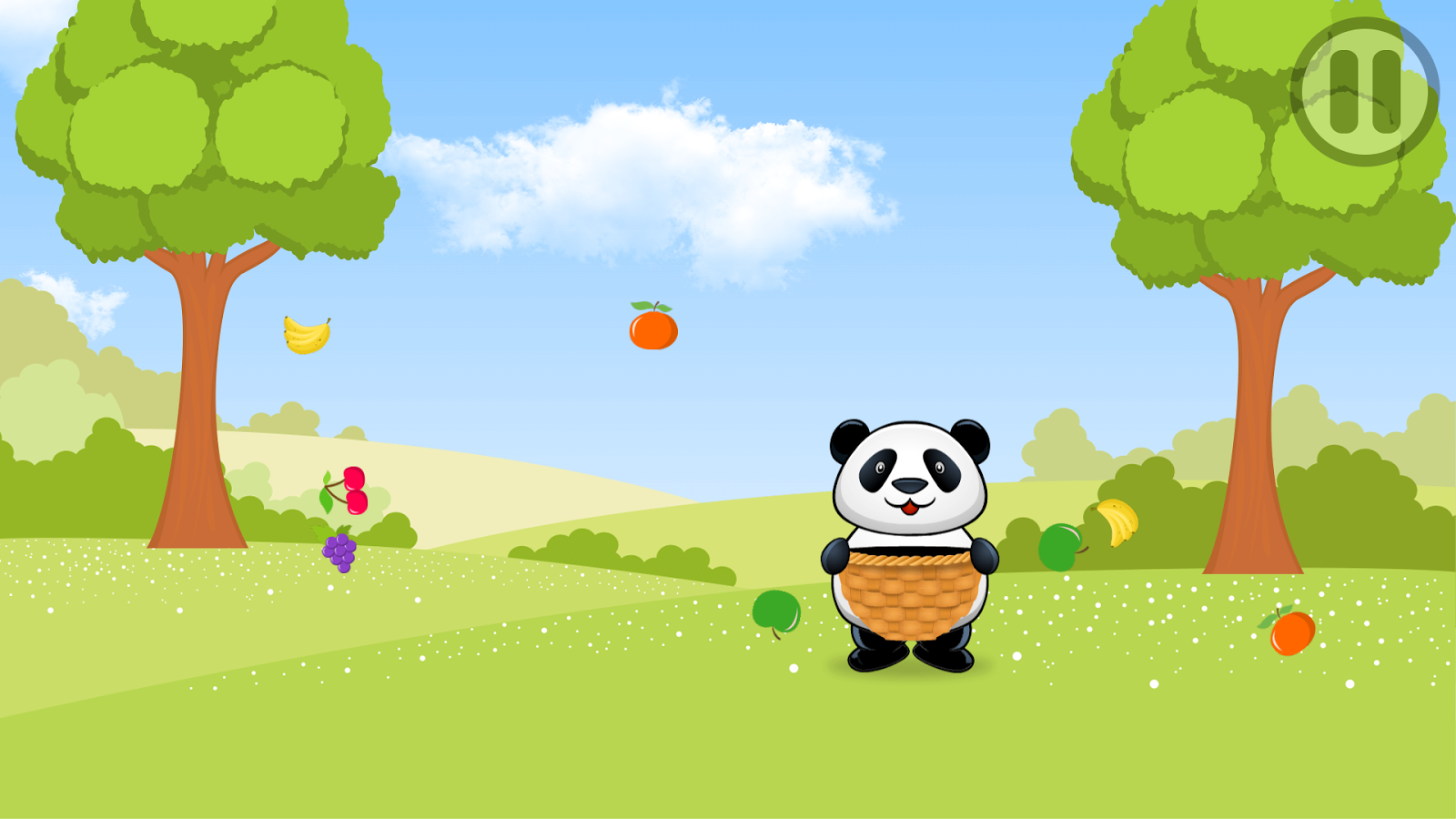 Baby Fruit Catch- screenshot