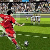 The king of the free kick -soccer