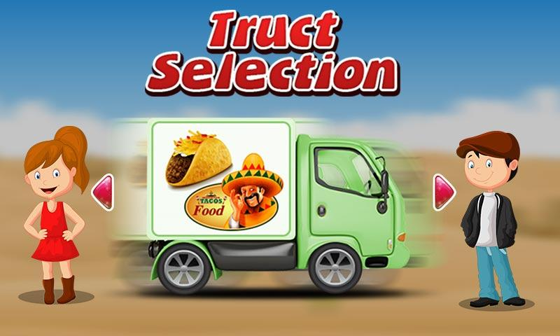 Taco Truck Wash & Cleanup Game- screenshot