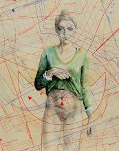 Photo: FASI  anno 2012 24x30 acrilico, grafite, pastelli su carta applicata su tavola  collezione privata © tutti i diritti riservati