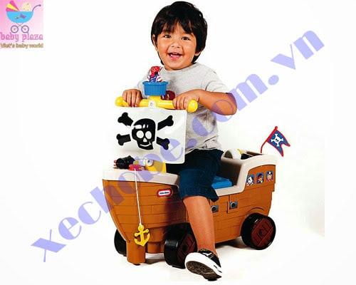 Xe chòi chân tàu cướp biển 3