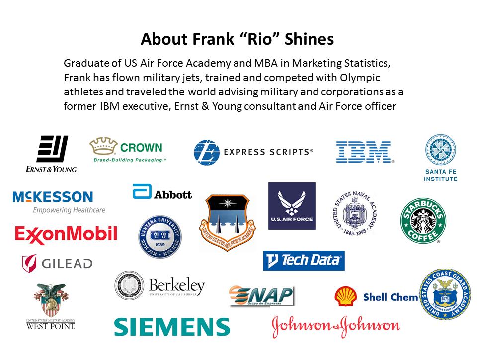 "About Frank ""Rio"" Shines - Short Bio"
