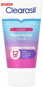 Clearasil Ultra Rapid Action Scrub - 125ml