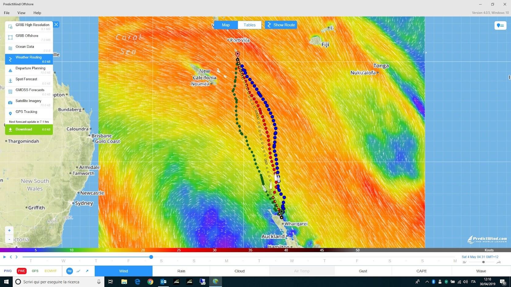 Predict Wind e la rotta verso le Vanuatu
