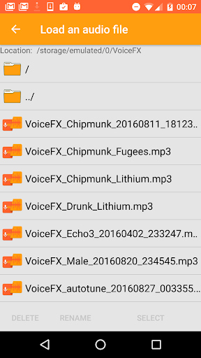 VoiceFX - Voice Changer with voice effects 1.1.0h screenshots 7