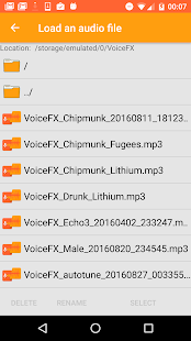VoiceFX - Voice Changer with voice effects Screenshot