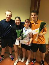 Photo: Double Mixte C Vainqueur: Florine Tang (avec Arthur Guth)