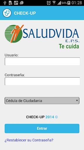 SaludVida EPS - Check Up