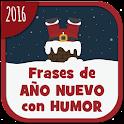 Frases de Año Nuevo con humor icon