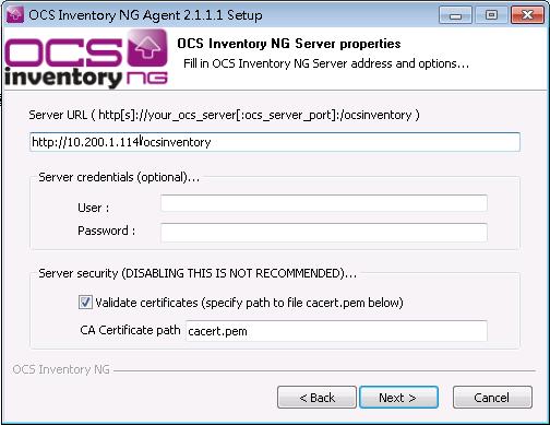 ocs ng win32 server