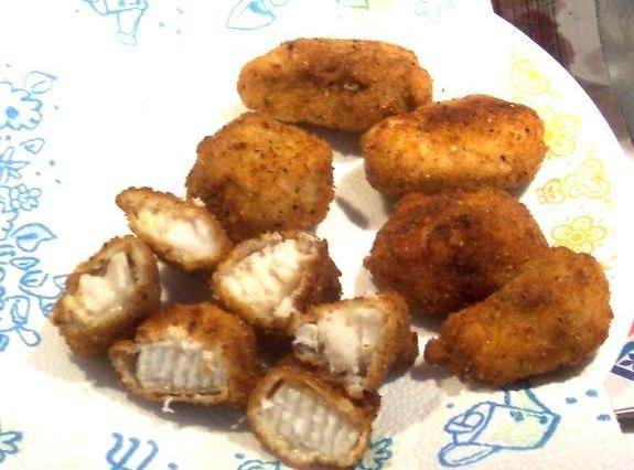 My fried catfish w homemade nuggets recipe just a pinch for Homemade fish fry