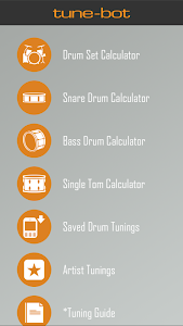 Drum Tuning Calculator screenshot 1