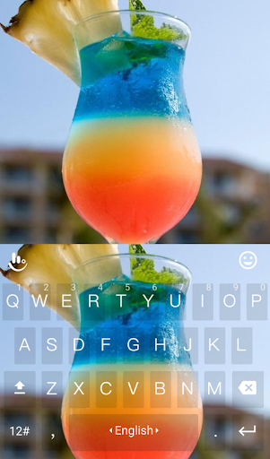 Rainbow Cocktail Keyboard