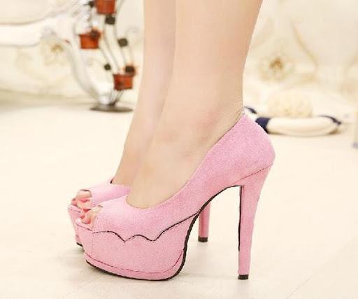 美麗的高跟鞋