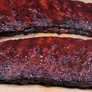 Smoked 3-2-1 St. Louis Style Spare Ribs.
