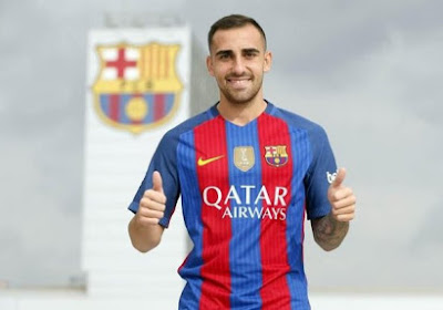 Le FC Barcelone accueille Paco Alcacer
