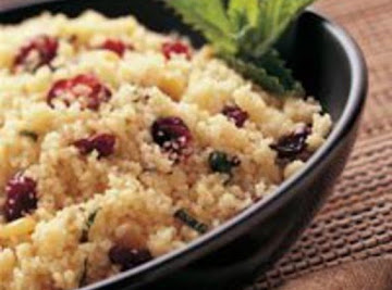 Apple, Raspberry, Cranberry Couscous Recipe