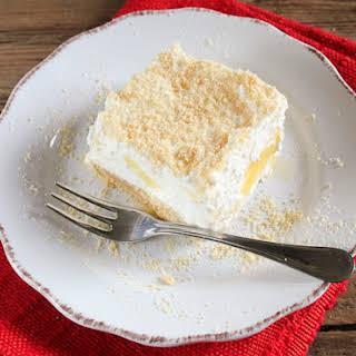 Pineapple Cream Dessert.