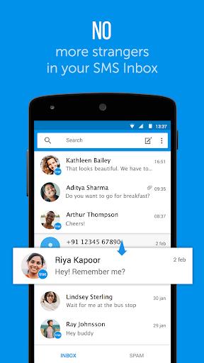 Truemessenger - SMS Block Spam screenshot 1