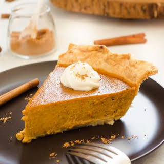 Chai Spiced Pumpkin Pie.