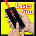 laser pointer simulator icon