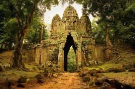 angkor thom entrée