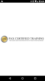 PaxTraining- screenshot thumbnail