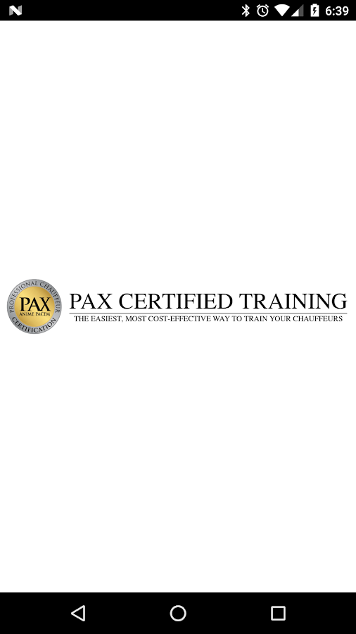 PaxTraining- screenshot