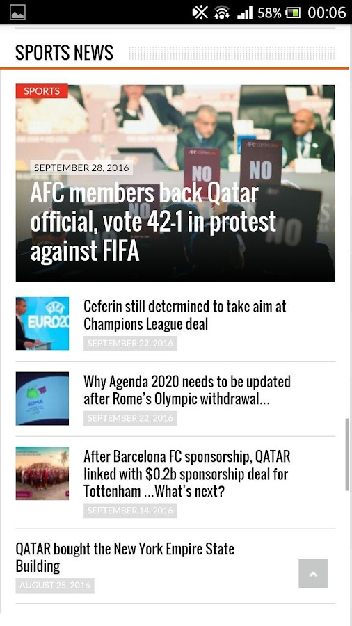Qatar Gulf News- screenshot