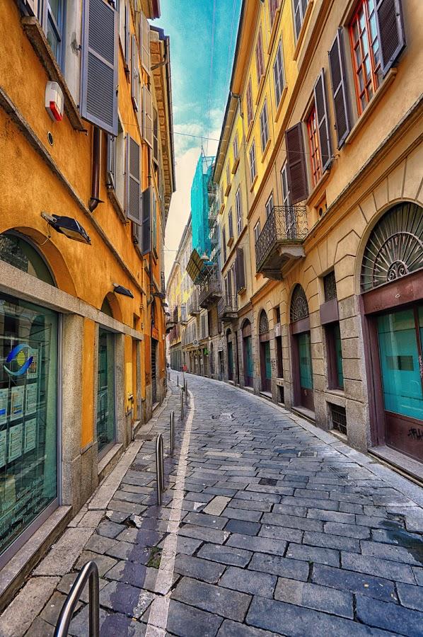 Milano - Cinque Vie by Luca Libralato - City,  Street & Park  Historic Districts ( milan, historic district, street view, italy, milano, cinque vie )