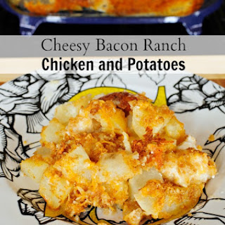 Cheesy Bacon Ranch Chicken and Potatoes
