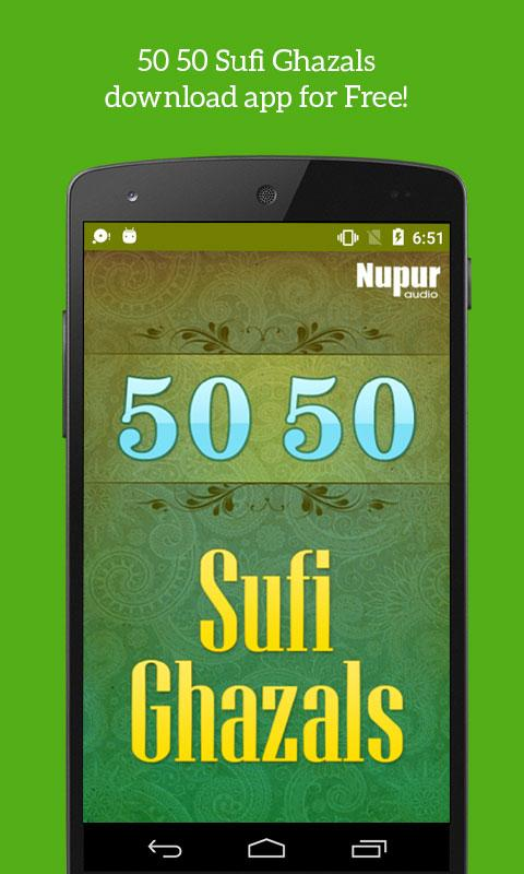 50 50 Sufi & Ghazals - Android Apps on Google Play