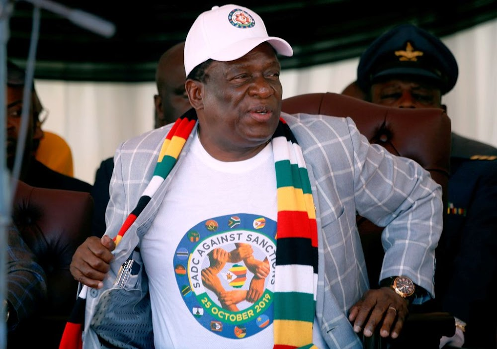 Enough is enough: remove sanctions now, Mnangagwa demands
